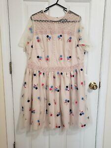 Modcloth Plus Size Lace Dress 1X