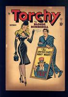 Torchy #1 (Quality 1949) VG Bill Ward Cover, Gill Fox