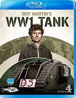 Guy Martins WW1 Tank [Blu-ray] [DVD][Region 2]