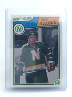 1983-1984 Brian Bellows #167 Minnesota North Stars O-Pee-Chee Hockey Card H690