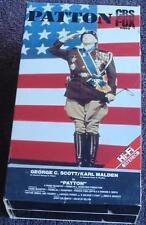 Patton - George C. Scott, Karl Malden - CBS Fox TV - Gently Used VHS Video
