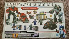 Kreo Transformers Battle For Energon 98812 - 4 In 1 Building Set - Sealed inside