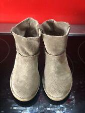 Genuine Grey Ugg Boots Size 6.5 RARE