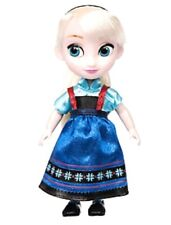 "DISNEY MINI DOLL ANIMATORS COLLECTION 5"" ELSA FROZEN COLLECTIBLE TOY FIGURE NEW"