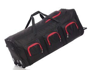 XXXL Large Lightweight Wheeled Duffle Holdall Travel Trolley Bag Luggage 40 Inch