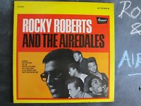 ROCKY ROBERTS & THE AIREDALES VINYL LP ALBUM RECORD 1968 BL754133 FUNK SOUL RARE