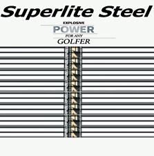 Set of 8 Apollo Acculite 75 LIGHT WEIGHT STEEL Golf IRON SHAFTS .370 STIFF