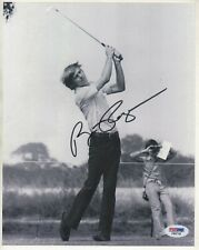 Bill Rogers Autograph Signed 8x10 photo PSA DNA Certified