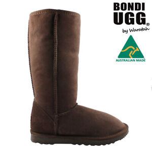 BONDI UGG Classic Tall Sheepskin Boot - CHOCOLATE
