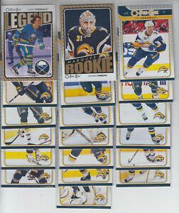 09/10 OPC Buffalo Sabres 19 Cards - Lalime Vanek Miller Perreault Enroth RC +