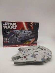 Star Wars Millennium Falcon Revell Model Kit Lights Up