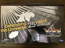 Toynami Masterpiece Voltron 25th Anniversary Collectors Edition Complete