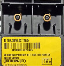 2 Stück Wendeplatten Wendeschneidplatten Mini Horn R108.3046.02 TN35