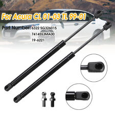 Pair Front Hood Lift Support Shock Struts For Acura CL 01-03 TL 99-01 SG326015