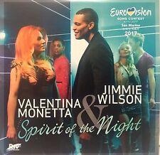 Eurovision SAN MARINO 2017 VALENTINA MONETTA & JIMMIE WILSON 4tk PROMO CD SINGLE