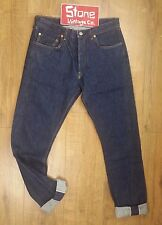 Levis Vintage LVC Blue Raw 1966 501XX Wide LTD ED Selvedge Jean W28 L34 £265 New