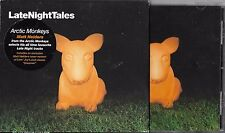 CD AVEC FOURREAU 20T ARCTIC MONKEYS LATE NIGHT TALES THE RAPTURE/ALEX TURNER....