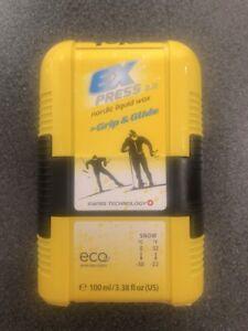 TOKO Express 2.0 Grip & Glide Pocket,Nordic Liquid Wax, 3.4oz Art. 5509265
