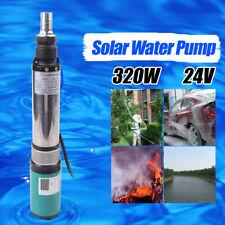 Dc24V Solar Water Pump 5m³/h 320W Farm Electric Deep Well Submersible Pump 25m