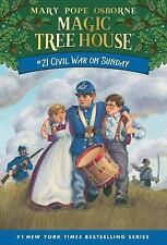 Magic Tree House: Civil War on Sunday No. 21 by Mary Pope Osborne (2000, Paperba