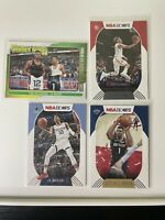 Ja Morant Zion Williamson Jersey Swap Lot plus trae young 4 card lot