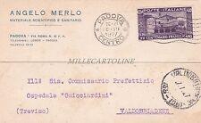 PADOVA - Angelo Merlo - Materiale Scientifico e Sanitario 1927