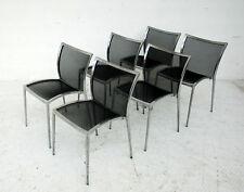 ZANOTTA design Roberto Barbieri 6 sedie modello ZILLI  2000s