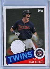 2020 Topps 85R-MK Max Kepler Game-used Relic Card '85 Design Minnesota Twins