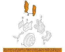 GM OEM Brake-Rear Pads 88899570