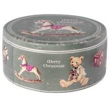 Keksdose Weihnachten MERRY X-MAS weiß grau D. 20cm H. 9cm Keramik Clayre & Eef W
