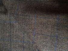 Herringbone Tweed All Wool Made in England 2.50 MTRS Trousers Jacketing Fabric