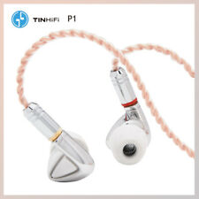 Tin Audio P1 Lossless Hifi In Ear Earphone 3.5mm No Mic With MMCX Cable Earphone