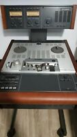 STUDER A807 VU STEREO MASTER TAPE RECORDER-REPRODUCER BUTTERFLY HEADS A-807