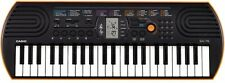 Small Electric Keyboard Beginner 44 Key Digital Piano 100 Electronic Tones Casio