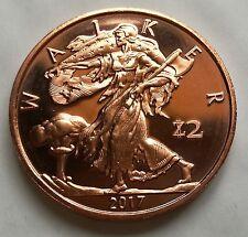 1 oz .999 Copper Zombucks Walker - 1st in series (Mintage: 110,602)