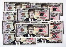 10 USA Donald Trump fantasy paper money for President 2016