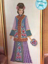 Chinese Lady Jewel Of The Orient Cross Stitch Chart