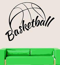 Basketball Ball Sport Fitness Wandtattoo Wallpaper Wand Schmuck 56 x 88 cm