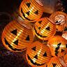 HOT Halloween LED Lights String Fairy Pumpkin Lantern Home Party Hanging Decor
