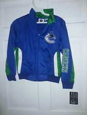 Vancouver Canucks Hockey  NHL Canada Track Jacket athletic gear NEW [ Youth S ].