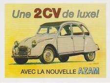 carte postale - CITROEN 2CV AZAM LUXE - 10X15 CM