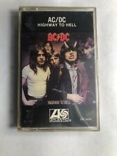 Vtg 1979 AC/DC Cassette HIGHWAY TO HELL Album Tape TESTED Lp CS-19244