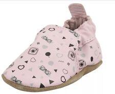 NIB ROBEEZ Mini Shoez Shoes Pink Penny Mary Jane 18-24m 6