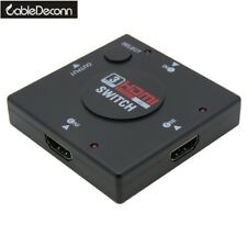 HDMI Switcher Splitter 3 input 1 Out Box 3 Port HDMI Selector PS3 PS4 Xbox Sky