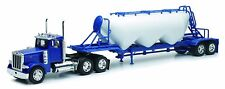 Peterbilt 379 Pneumatic Dry Bulk Trailer Long Haul 1:32 Diecast Model - SS10583*