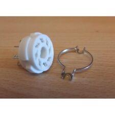 Zoccolo GZC8-1 socket, octal in ceramica da telaio/CHS