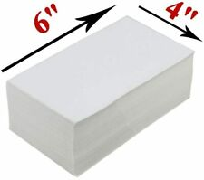 1000pcs 4x6 Fanfold Direct Thermal Shipping Labels For Zebra And Rollo Printers