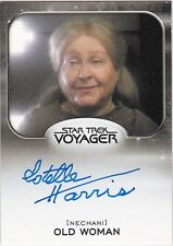 STAR TREK ALIENS 2014 ESTELLE HARRIS OLD WOMAN NECHANI VOYAGER AUTOGRAPH VL