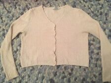Marks & Spencer Womens Light Pink Pretty Cardigan Size 12