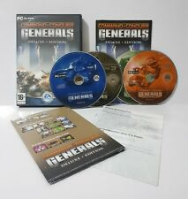 Command and Conquer Generals Deluxe (PC) Region Free Complete incl Zero Hour NJ2